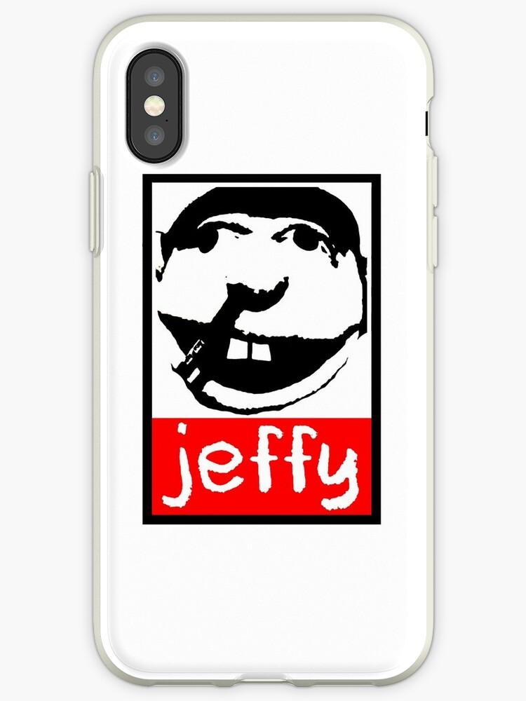 'Jeffy SML Obey' iPhone Case by POM MER