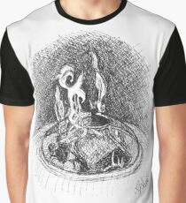Campfire - Sketch by Laura Jaen Graphic T-Shirt