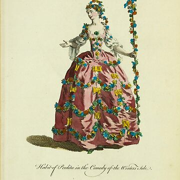 Habit of Perdita in the comedy of the Winter's Tale Perdita dans la comédie intitulée The Winter's Tale 371 by wetdryvac