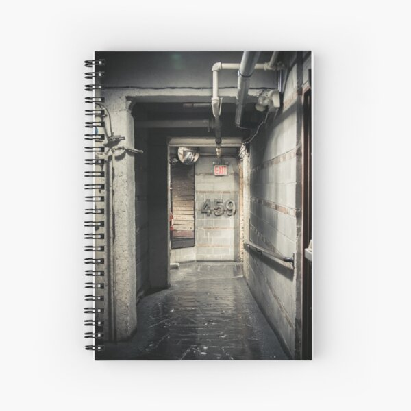 Corridor and number Spiral Notebook