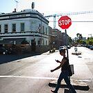 Stop - Fitzroy, Australia by Anthony Evans