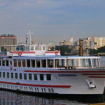 Alemannia cruise ship, Amsterdam by FranWest