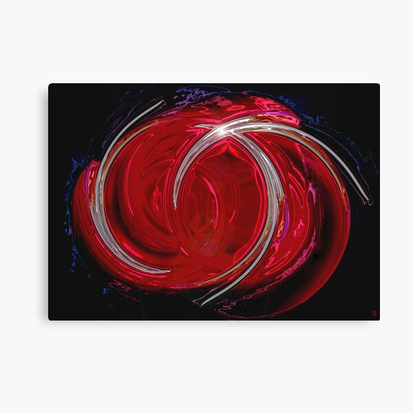 Red emotions Canvas Print