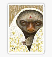 Medicine Sloth Sticker