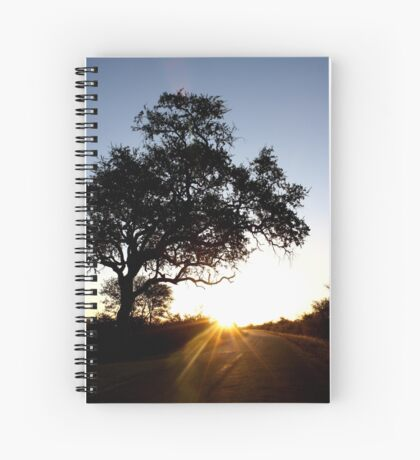 This is sunset boulevard... Spiral Notebook