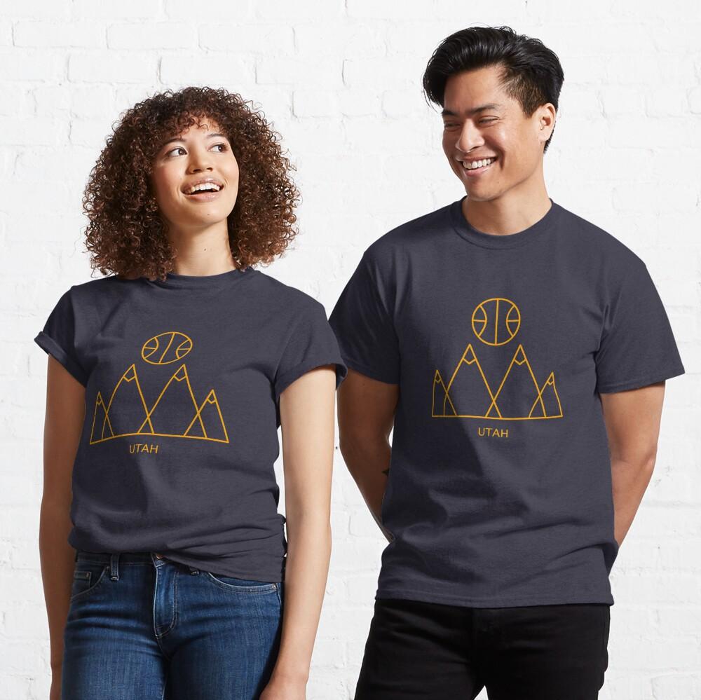 Minimalist Utah Basketball Classic T-Shirt