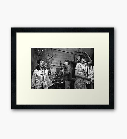 The Roofies at Mission Creek II Framed Print