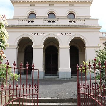 Castlemaine Courthouse by kalaryder