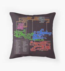 Cojín Mapa de Super Metroid