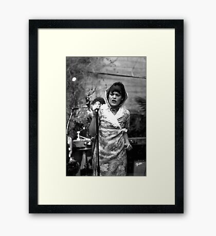 The Roofies Framed Print