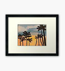 Tall palms  Framed Print