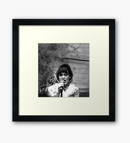 The Roofies Lead Vocalist Framed Print