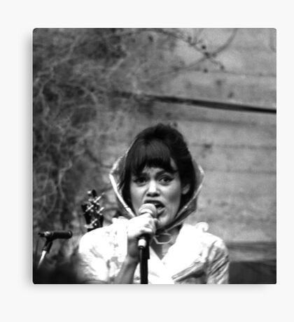 The Roofies Lead Vocalist Canvas Print