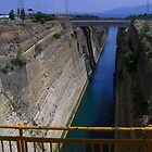the corinth canal by sharon Wingard