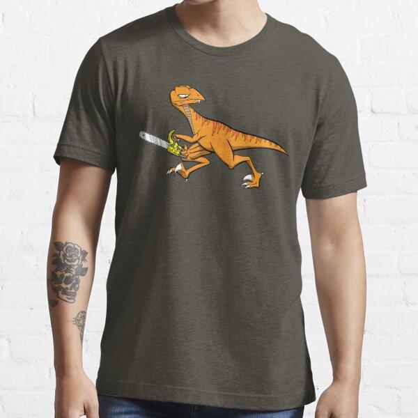 Chainsaw Dinosaur Essential T-Shirt