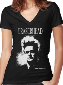 Eraserhead T-Shirt Women's Fitted V-Neck T-Shirt