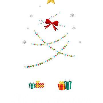 Christmas Light Parrot Tree T Shirt Gifts For Women Men Kids by kelvil