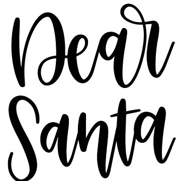 Dear Santa by MorganNicole021