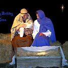 Happy Birthday Jesus by Glenna Walker