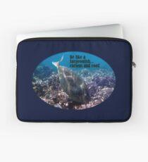 Be Like A Surgeonfish Laptop Sleeve