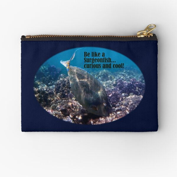 Be Curious And Cool Zipper Pouch
