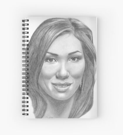 Michaela Conlin Spiral Notebook