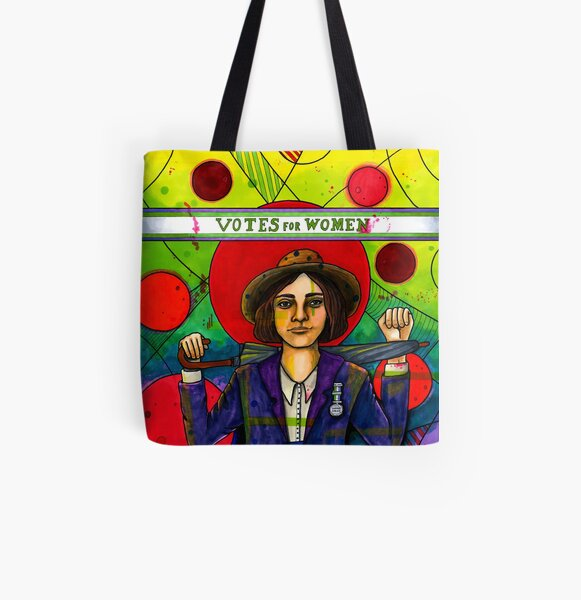 Edith Garrud All Over Print Tote Bag