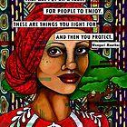 Wangari Maathai by Alexandra Melander