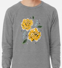 Gold Roses Lightweight Sweatshirt