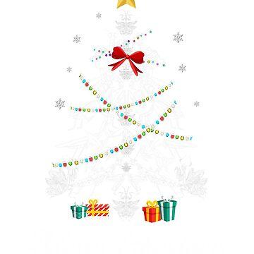 Christmas Light Mantis Tree Shirt Gifts For Women Men Kid by kelvil