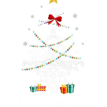 Christmas Light Dinosaurs Tree T Shirt Gifts Women Men Kids by kelvil