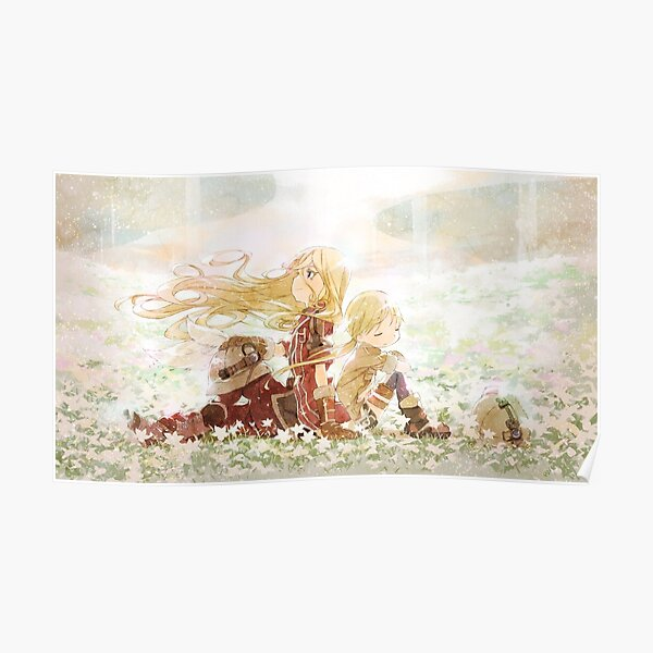Made in Abyss - Riko and Lyza Poster