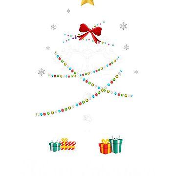 Christmas Light Mouse Tree T Shirt Gifts For Women Men Kids by kelvil