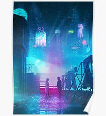 BLADE RUNNER 2049 Painting Poster