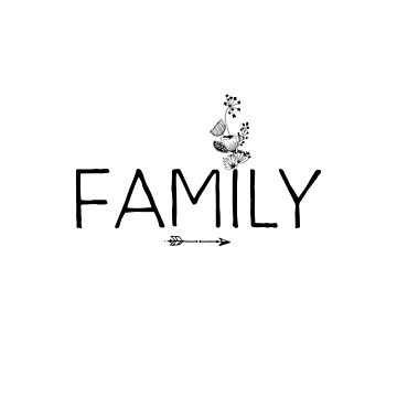 Inspirational Quote - Family by IN3PIRED
