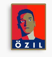 Mesut Ozil (Arsenal Palette) Canvas Print