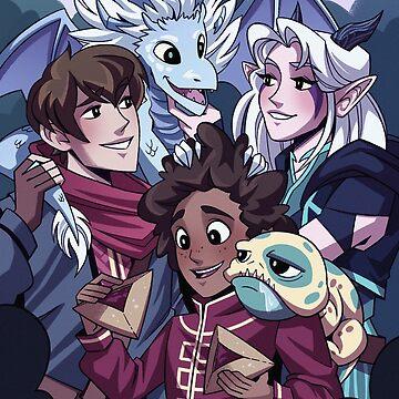 Dragon Family by mishydraws