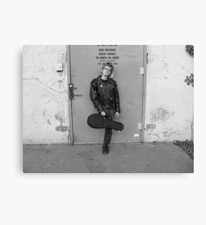 Seth after Beatles Concert Canvas Print