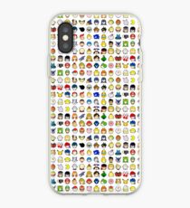Super Smash Bros Ultimate Character Stock Icons - True Roster Order (Arrangement 2 of 4) iPhone Case