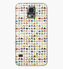 Super Smash Bros Ultimate Character Stock Icons - True Roster Order (Arrangement 2 of 4) Case/Skin for Samsung Galaxy