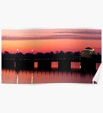 Jefferson Memorial Sunrise Poster