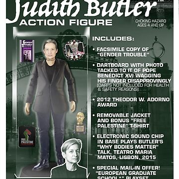 Judith Butler Action Figure by GiantsOfThought