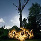 Moonlit Tree by stephenk