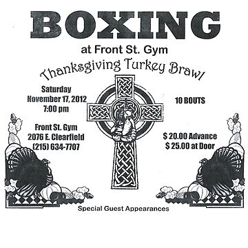 Front St Gym Boxing by 23jd45