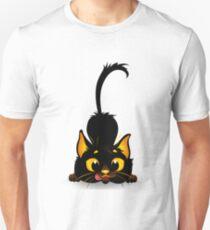 Katzen Shirts Geschenk Hunde Miau  Unisex T-Shirt