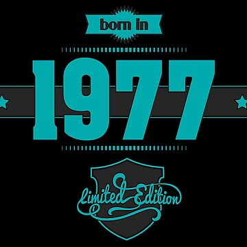 Born in 1977 (Blue&Darkgrey) by ipiapacs