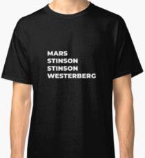 The Lineup 5 (Black) Classic T-Shirt