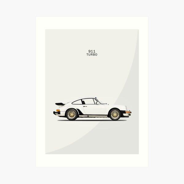 The 911 Turbo Art Print