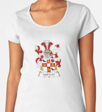 Hartley Coat of Arms - Family Crest Shirt Women's Premium T-Shirt