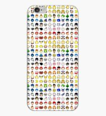 Super Smash Bros Ultimate Character Stock Icons - Rainbow! (Arrangement 4 of 4) iPhone Case